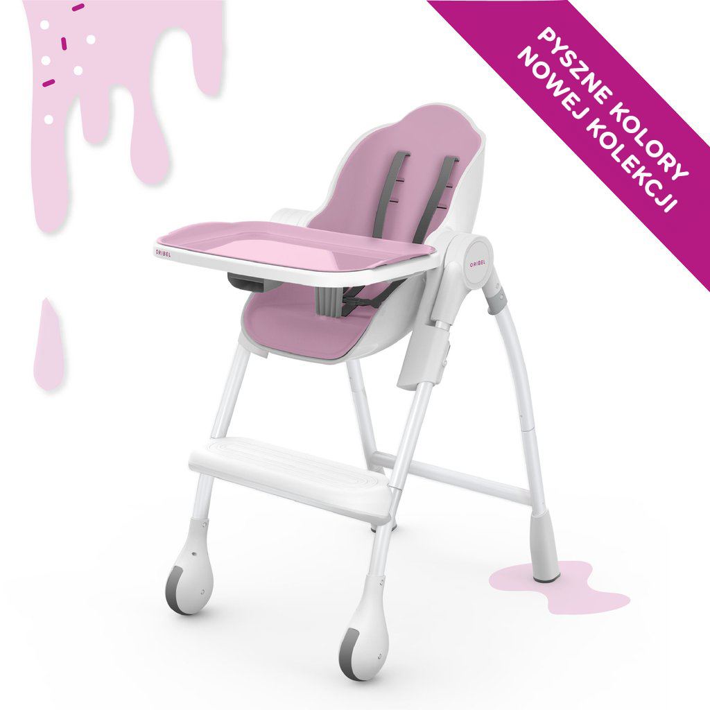Cocoon™ - The Complete High Chair (Różowy)