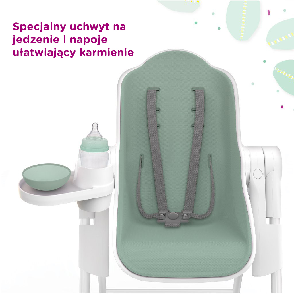 Cocoon™ - The Complete High Chair (Pistacjowy)