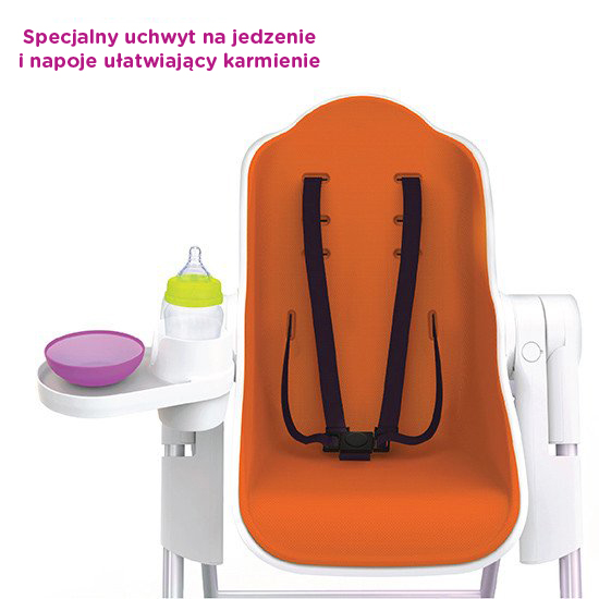 Cocoon™ - The Complete High Chair (Orange)