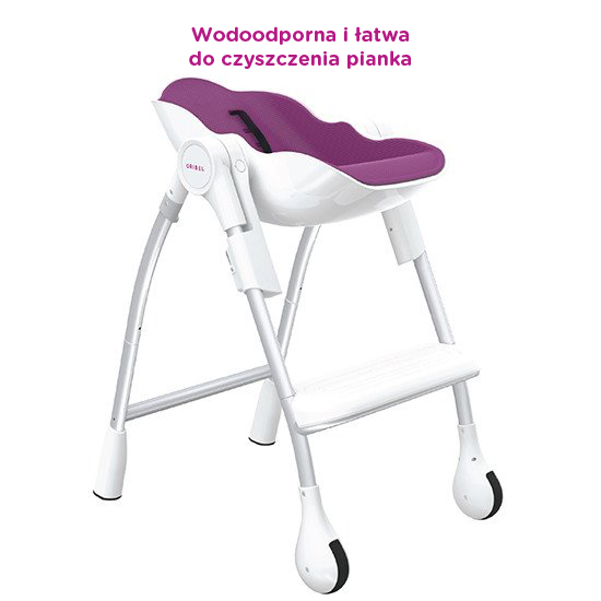 Cocoon™ - The Complete High Chair (Plum)
